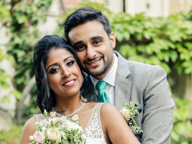 Le mariage de Julien et Vishakha à Maisons-Laffitte, Yvelines 157