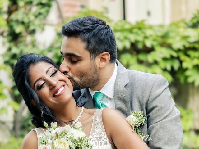 Le mariage de Julien et Vishakha à Maisons-Laffitte, Yvelines 158