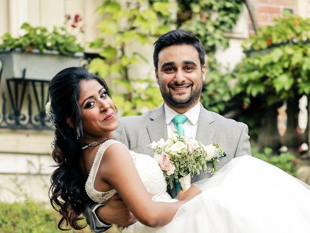 Le mariage de Julien et Vishakha à Maisons-Laffitte, Yvelines 159