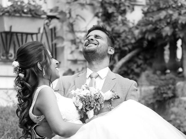 Le mariage de Julien et Vishakha à Maisons-Laffitte, Yvelines 160