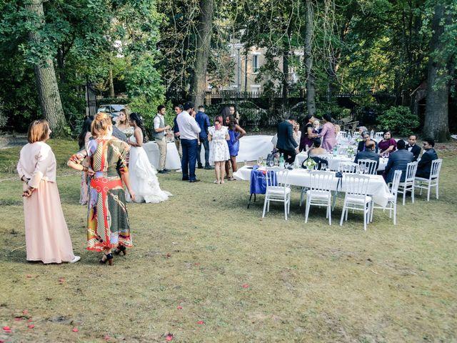 Le mariage de Julien et Vishakha à Maisons-Laffitte, Yvelines 164