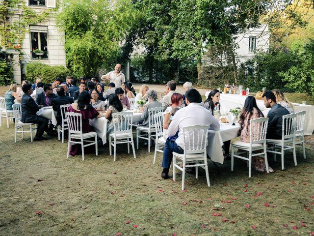 Le mariage de Julien et Vishakha à Maisons-Laffitte, Yvelines 165
