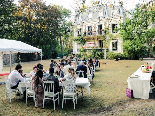 Le mariage de Julien et Vishakha à Maisons-Laffitte, Yvelines 166