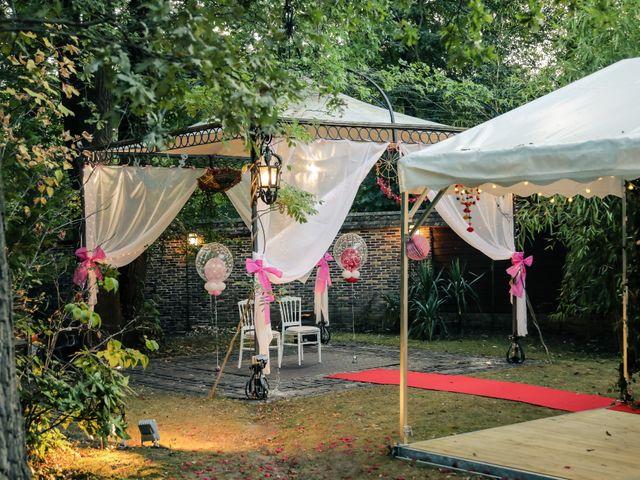 Le mariage de Julien et Vishakha à Maisons-Laffitte, Yvelines 167