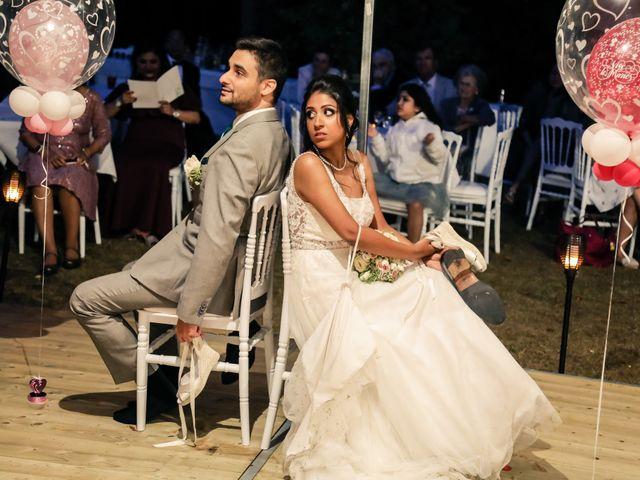 Le mariage de Julien et Vishakha à Maisons-Laffitte, Yvelines 173