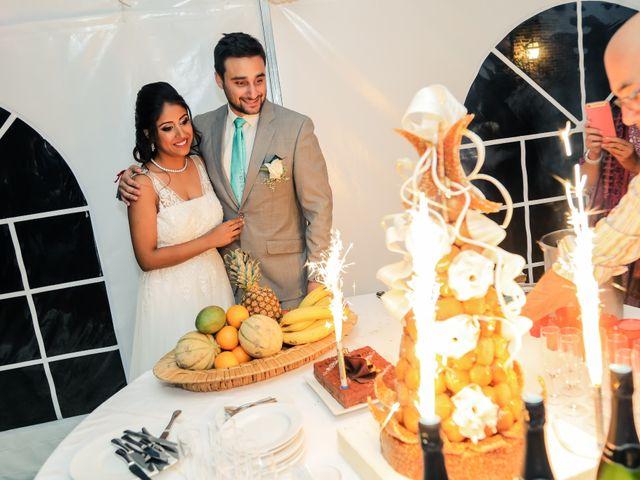 Le mariage de Julien et Vishakha à Maisons-Laffitte, Yvelines 179