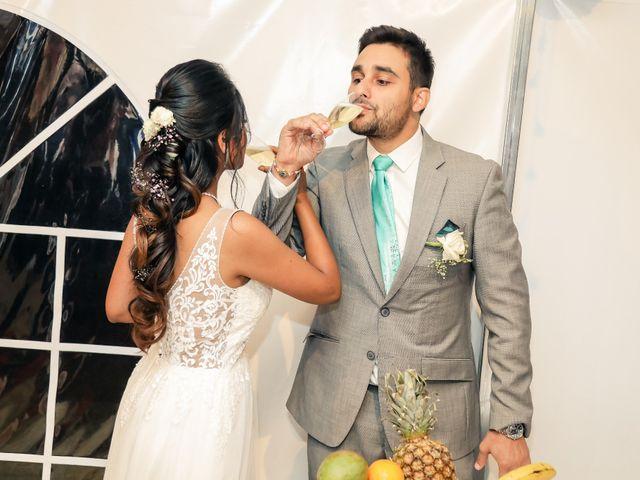 Le mariage de Julien et Vishakha à Maisons-Laffitte, Yvelines 181