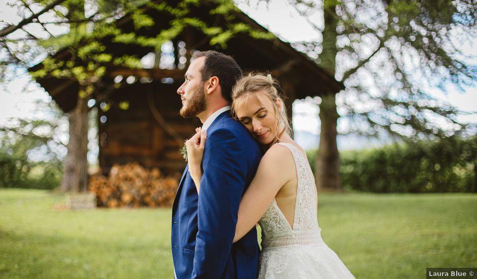 Le mariage de Thibaut et Alisson à Albens, Savoie