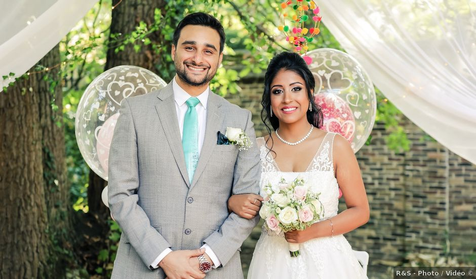 Le mariage de Julien et Vishakha à Maisons-Laffitte, Yvelines