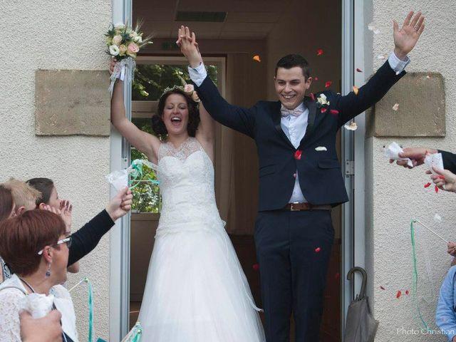 Le mariage de Mathieu et Amandine à Albignac, Corrèze 12