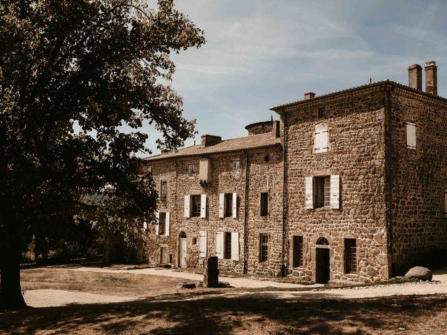 Le mariage de Noé et Marie-Claire à Saint-Romain-d'Ay, Ardèche 2