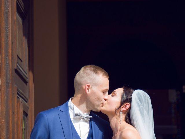 Le mariage de Guillaume et Jessica à Houssen, Haut Rhin 13
