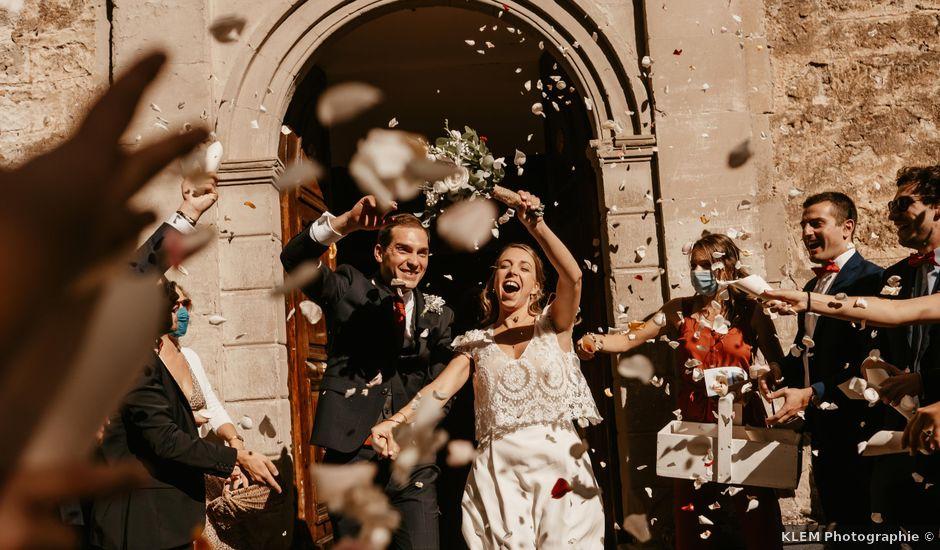 Le mariage de Noé et Marie-Claire à Saint-Romain-d'Ay, Ardèche