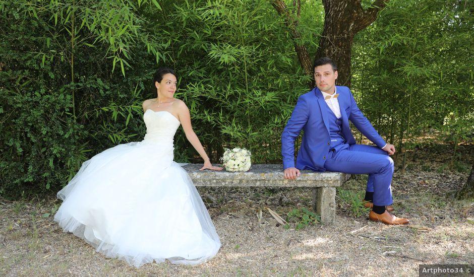 Le mariage de Julien et Sophie à Alès, Gard