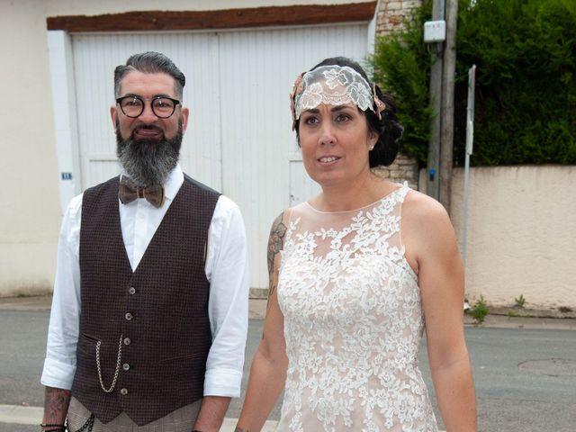 Le mariage de David et Catherine à Chabournay, Vienne 4