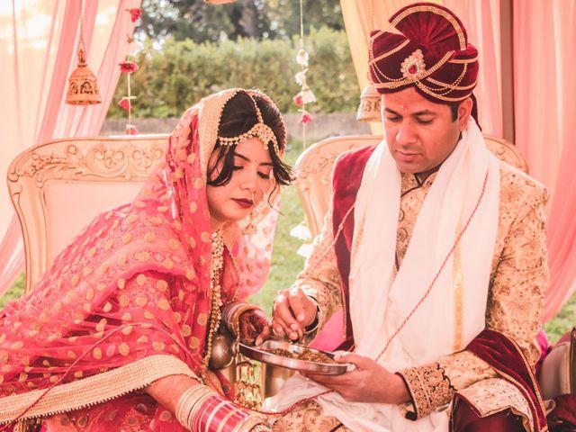 Le mariage de Manoj et Pooja à Gouvieux, Oise 1