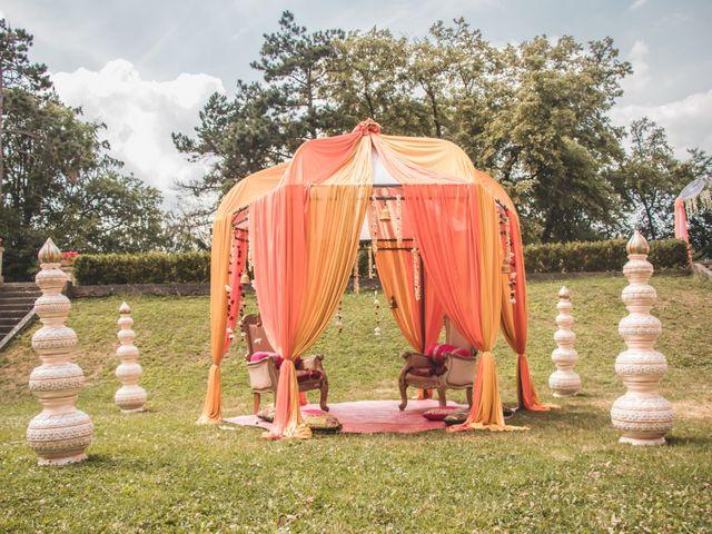 Le mariage de Manoj et Pooja à Gouvieux, Oise 3