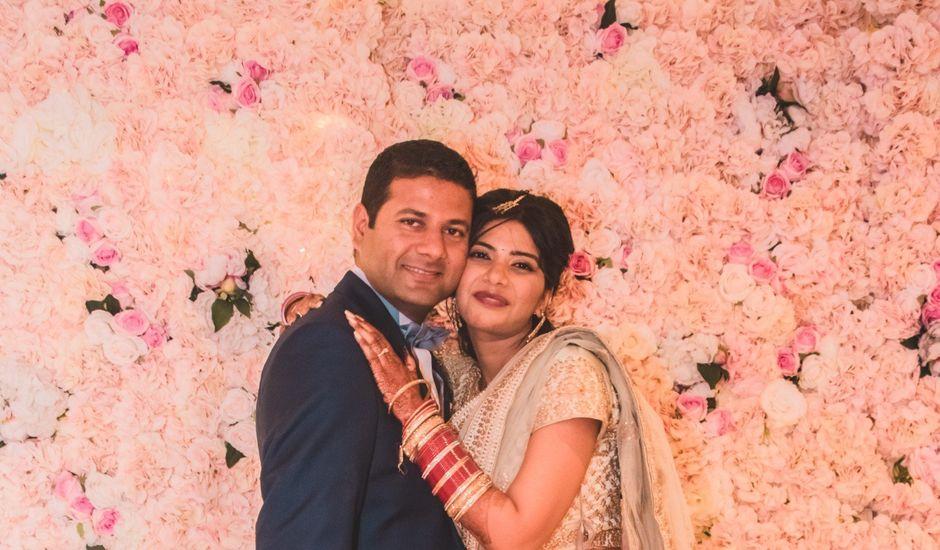 Le mariage de Manoj et Pooja à Gouvieux, Oise