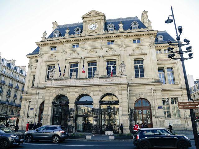 Le mariage de Sadok et Pauline à Paris, Paris 2
