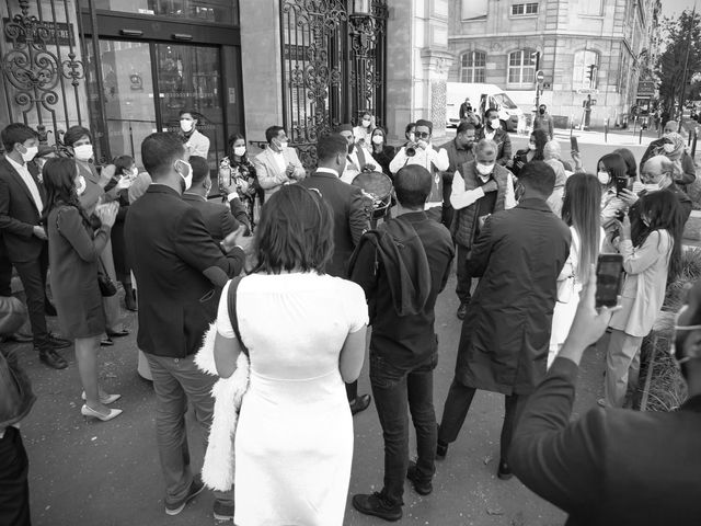 Le mariage de Sadok et Pauline à Paris, Paris 4