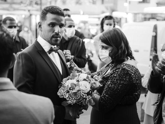 Le mariage de Sadok et Pauline à Paris, Paris 6