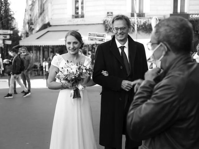 Le mariage de Sadok et Pauline à Paris, Paris 8