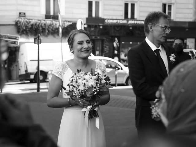 Le mariage de Sadok et Pauline à Paris, Paris 9