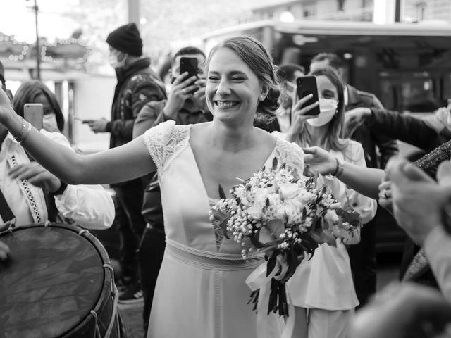 Le mariage de Sadok et Pauline à Paris, Paris 11