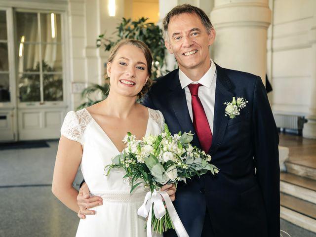 Le mariage de Sadok et Pauline à Paris, Paris 19