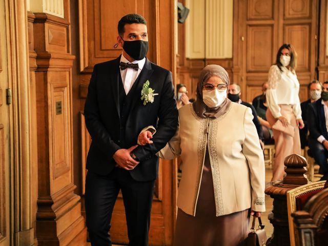 Le mariage de Sadok et Pauline à Paris, Paris 21
