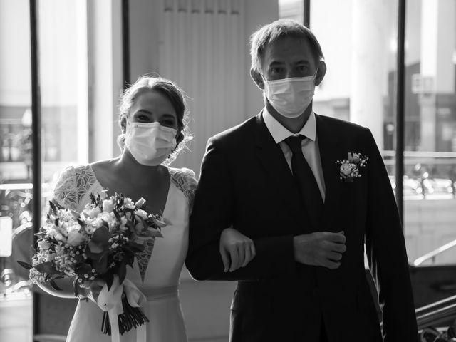 Le mariage de Sadok et Pauline à Paris, Paris 22
