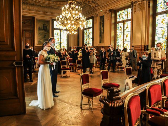 Le mariage de Sadok et Pauline à Paris, Paris 24