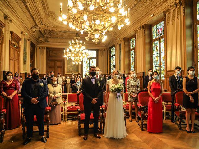 Le mariage de Sadok et Pauline à Paris, Paris 27