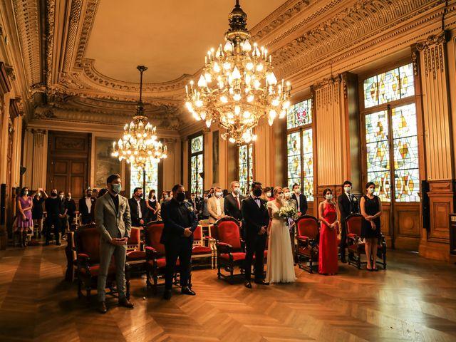 Le mariage de Sadok et Pauline à Paris, Paris 28