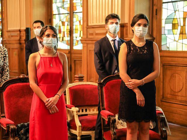 Le mariage de Sadok et Pauline à Paris, Paris 29