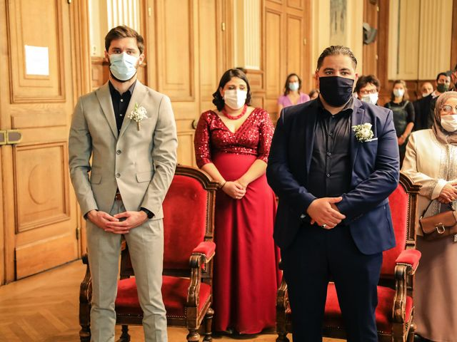 Le mariage de Sadok et Pauline à Paris, Paris 30