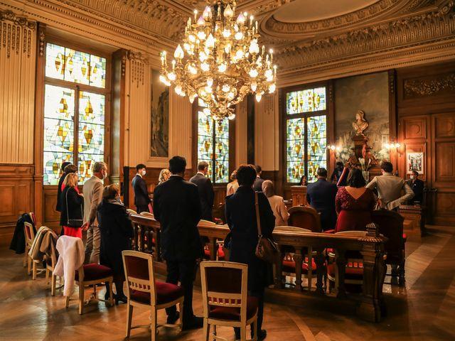 Le mariage de Sadok et Pauline à Paris, Paris 31