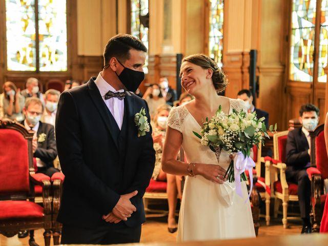 Le mariage de Sadok et Pauline à Paris, Paris 36