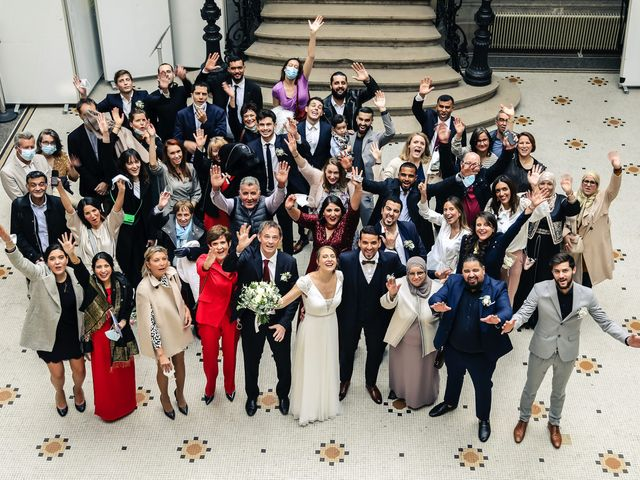 Le mariage de Sadok et Pauline à Paris, Paris 44