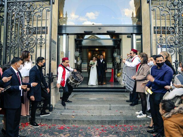 Le mariage de Sadok et Pauline à Paris, Paris 48