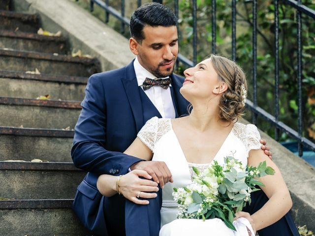 Le mariage de Sadok et Pauline à Paris, Paris 53