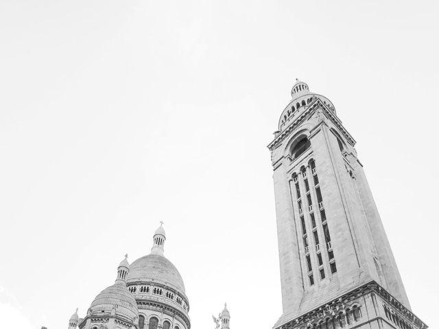 Le mariage de Sadok et Pauline à Paris, Paris 56