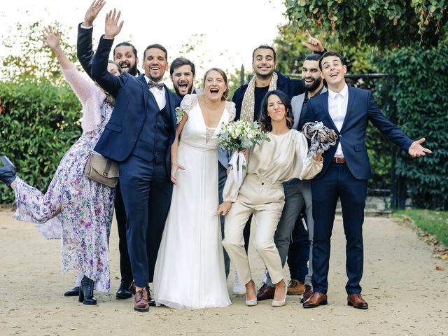 Le mariage de Sadok et Pauline à Paris, Paris 60