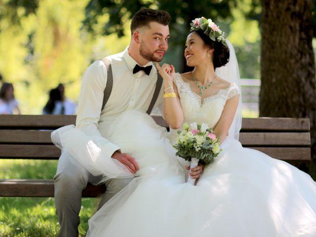 Le mariage de Jiazhi et Thibault à Mérignac, Gironde 15
