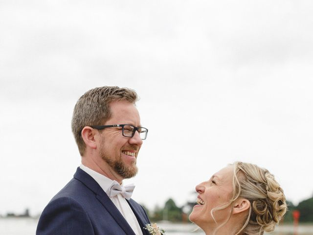 Le mariage de Nicolas et Cécile à Elliant, Finistère 3