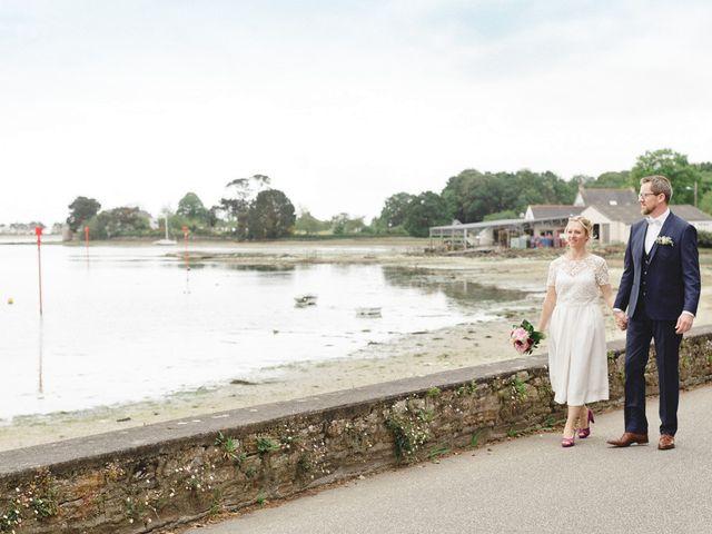 Le mariage de Nicolas et Cécile à Elliant, Finistère 5