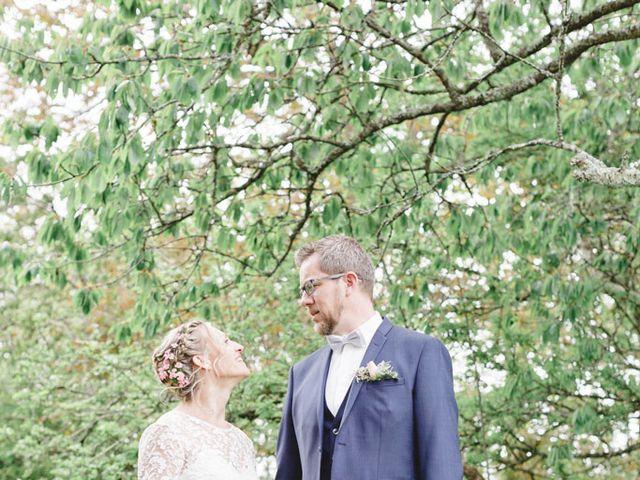 Le mariage de Nicolas et Cécile à Elliant, Finistère 55