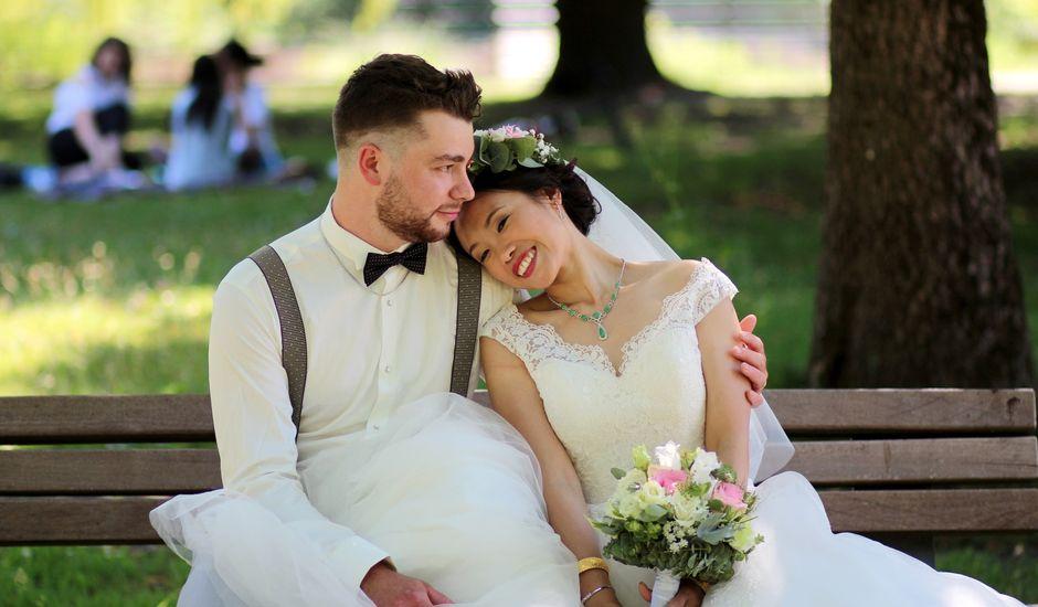 Le mariage de Jiazhi et Thibault à Mérignac, Gironde