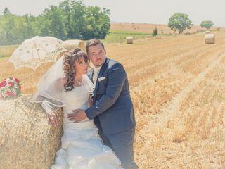 Le mariage de Florian et Sylviane à Montcarra, Isère 15