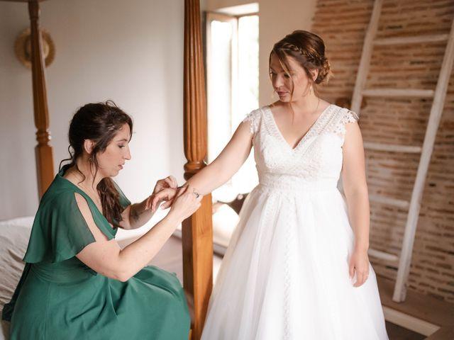 Le mariage de Frédéric et Coralie à Tilh, Landes 11